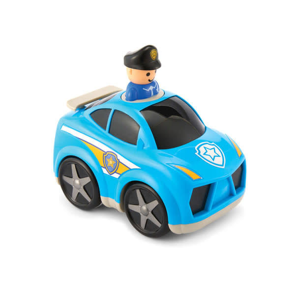 Kidoozie Press 'N Zoom Police Car