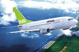 Air Baltic naar Riga