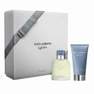 Dolce Gabbana Light Blue for Men Set - 2pcs