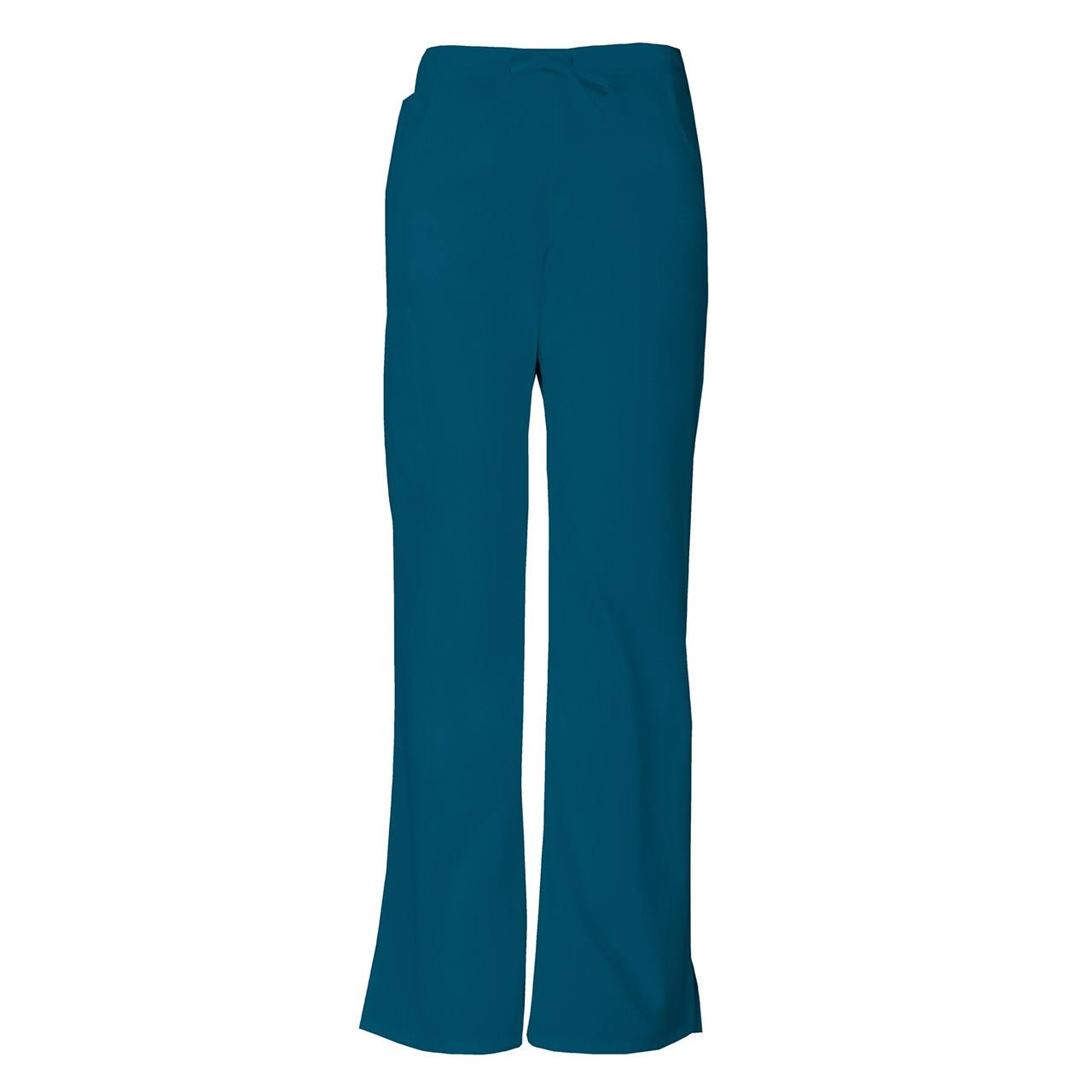 Dickies EDS Signature Scrubs Women's Drawstring Cargo Pants - XL - Caribbean Blue