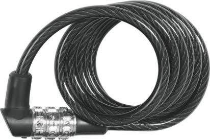 Abus 1150 Series Combination Cable Lock Black