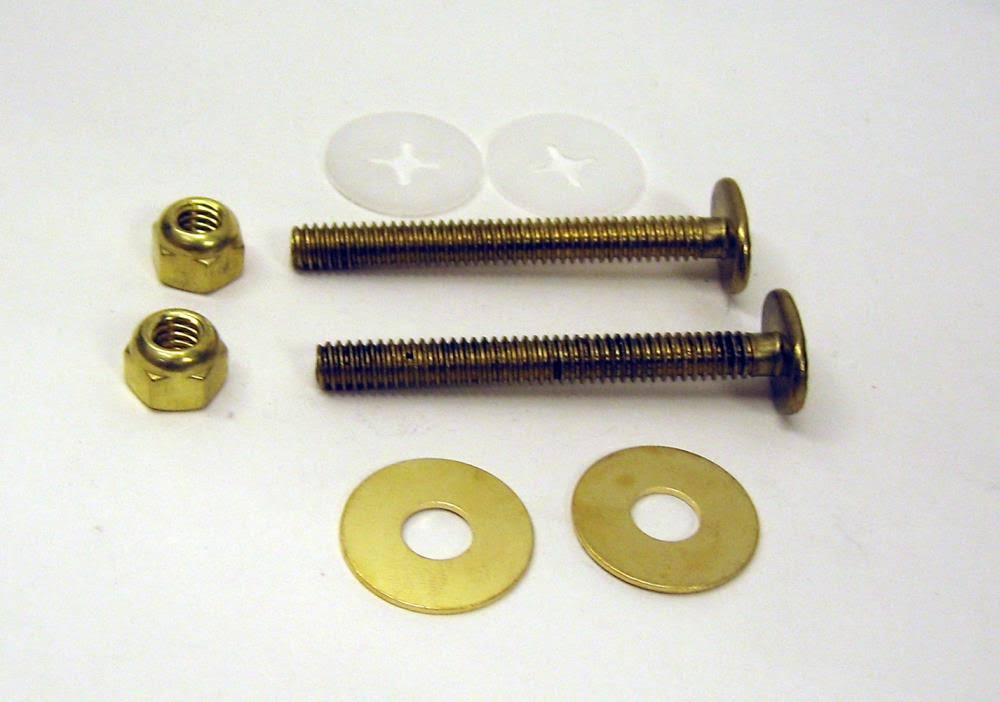 Fluidmaster 7110 Bowl to Floor Bolts - 2-1/4""