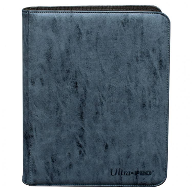 Ultra Pro Suede Collection 9-Pocket Premium Pro-Binder: Sapphire