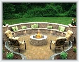 patio backyard fire pit patio diy fire pit patio table build