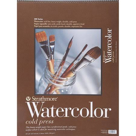 Strathmore Watercolor Paper Pad - 12 Sheets