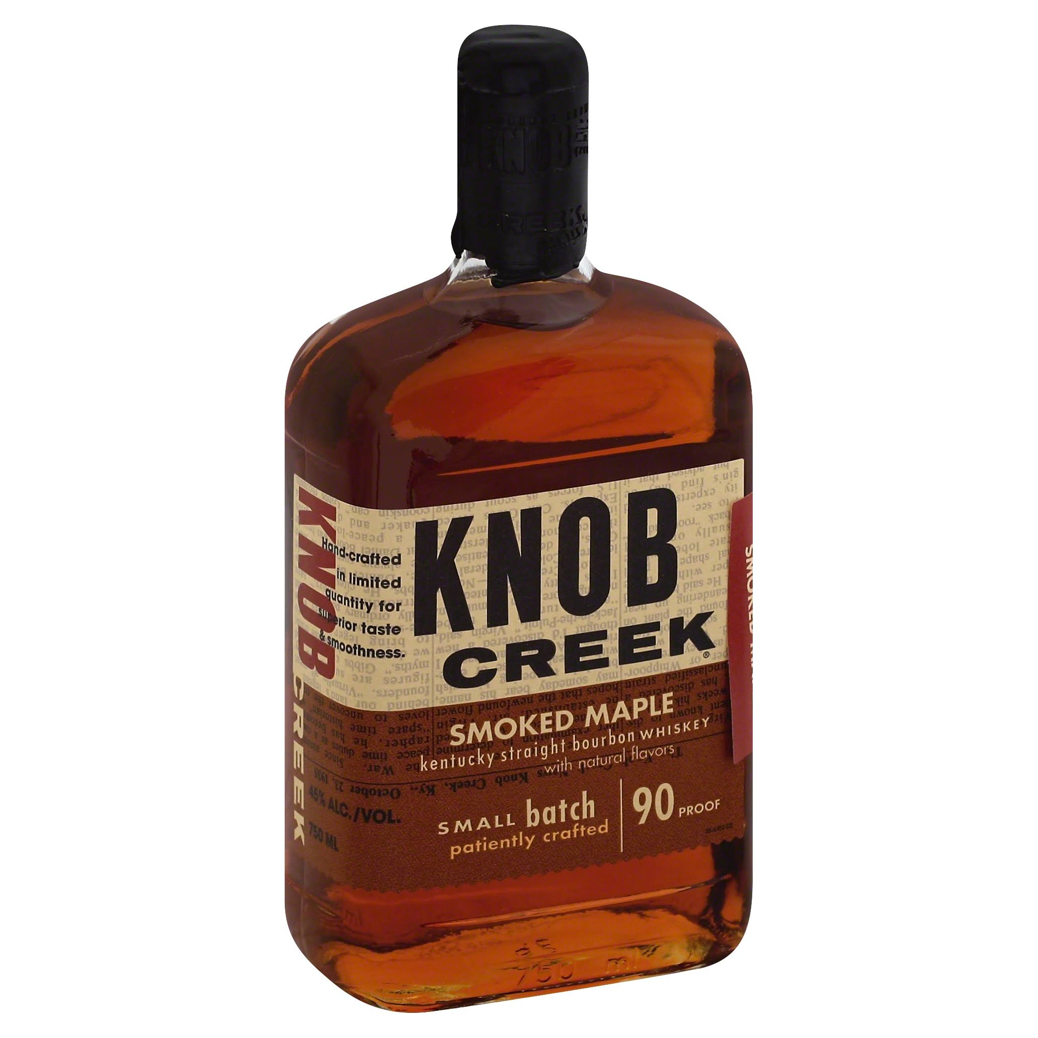 Knob Creek Smoked Maple Kentucky Straight Bourbon Whiskey