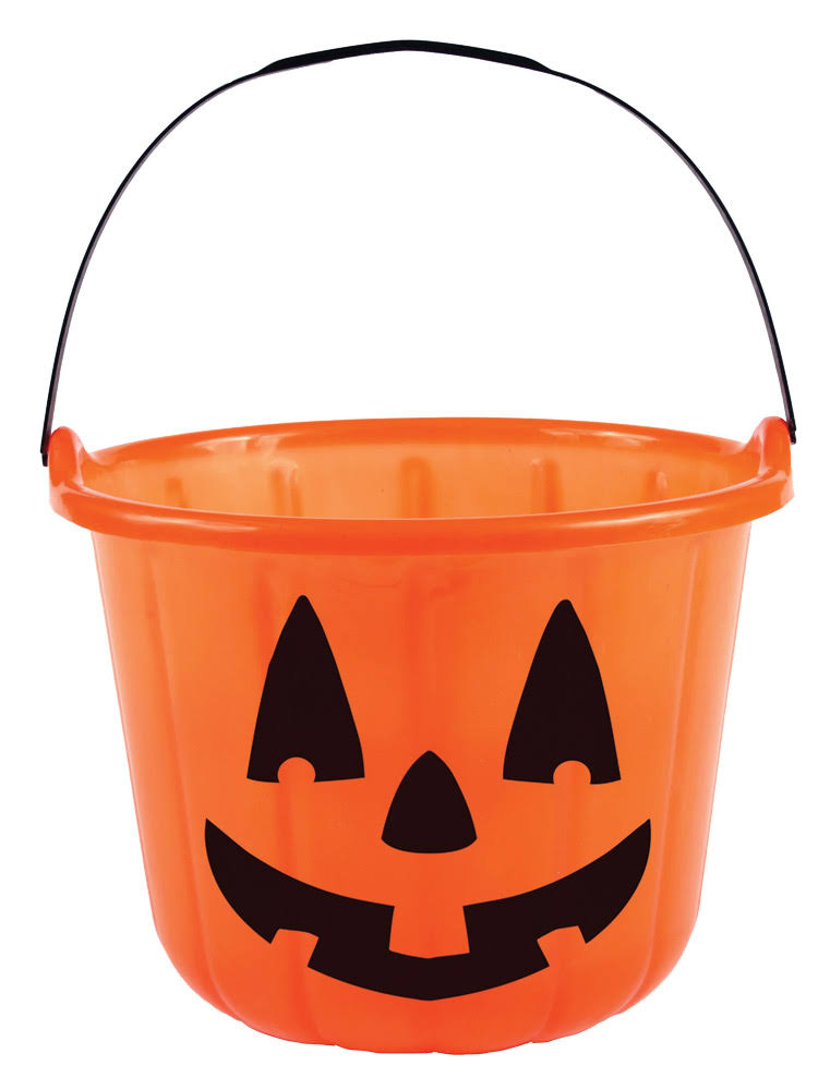 Pumpkin Treat Bucket - 8""