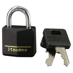 Master Lock Vinyl Covered Padlock - 1 3/16""