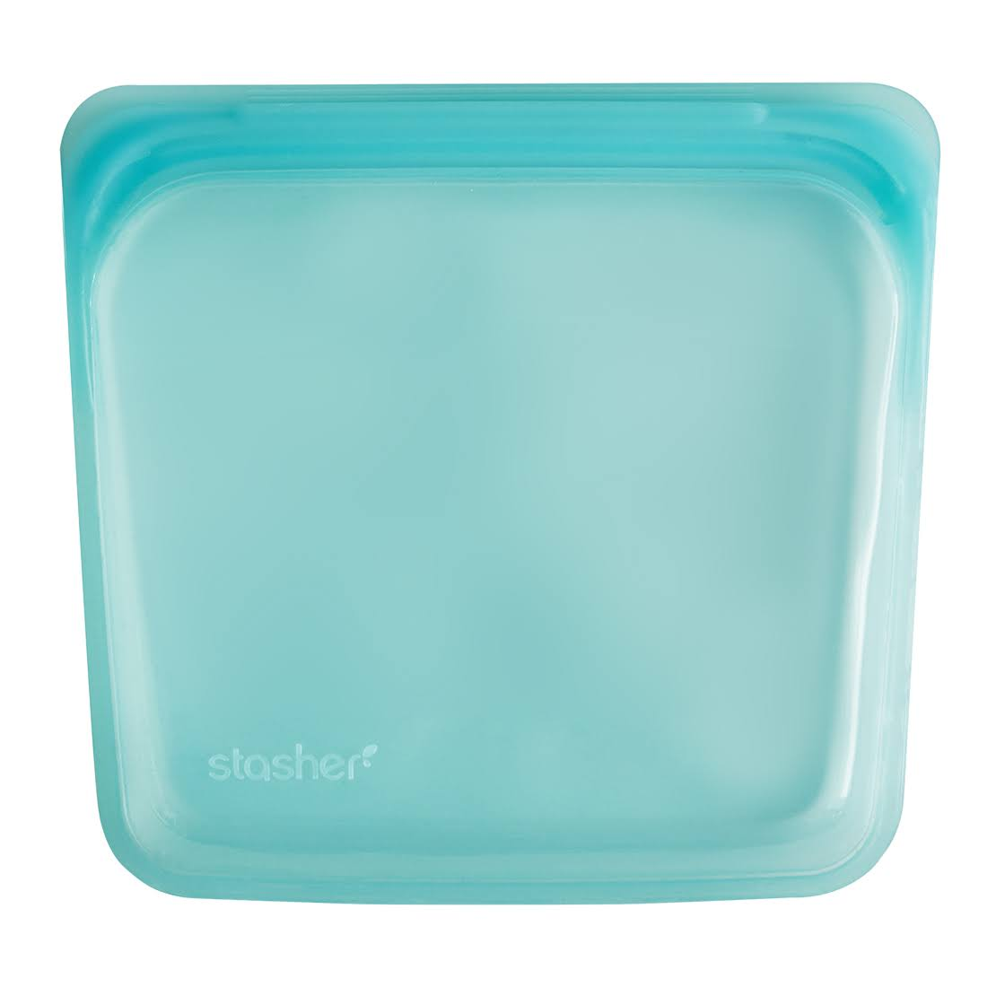 Stasher Reusable Silicone Food Bag - Aqua