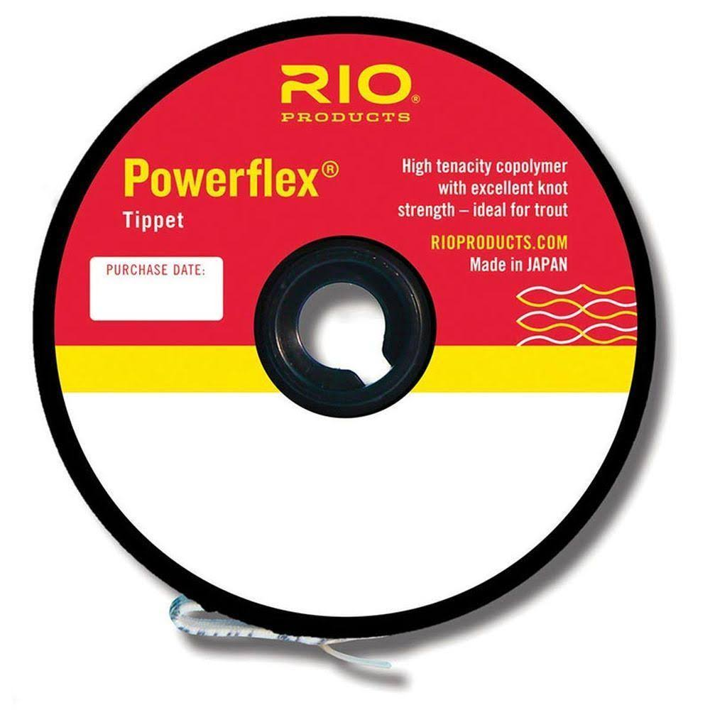 Rio Fly Fishing Powerflex Tippet Standard Spool - 30yds