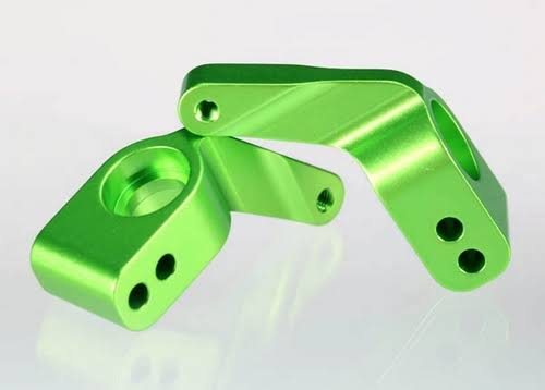 Traxxas 3652G Stub Axle Carriers Green