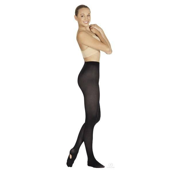 Eurotard 210 Adult Convertible Tights Adult XXL / Black