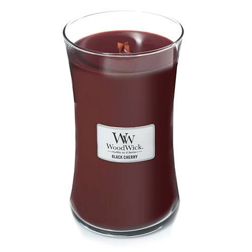 Woodwick Candle - Black Cherry, 22oz