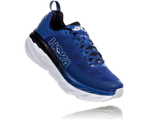 Hoka One One Men's Bondi 6 - Galaxy Blue / Anthracite - 11