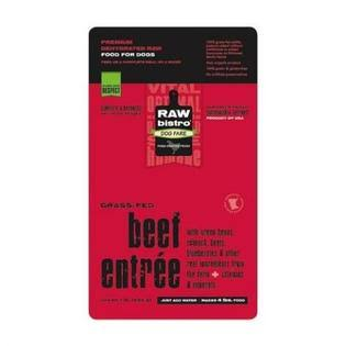 Raw Bistro Dehydrated Dog Food - Beef Entrée - 1 lb