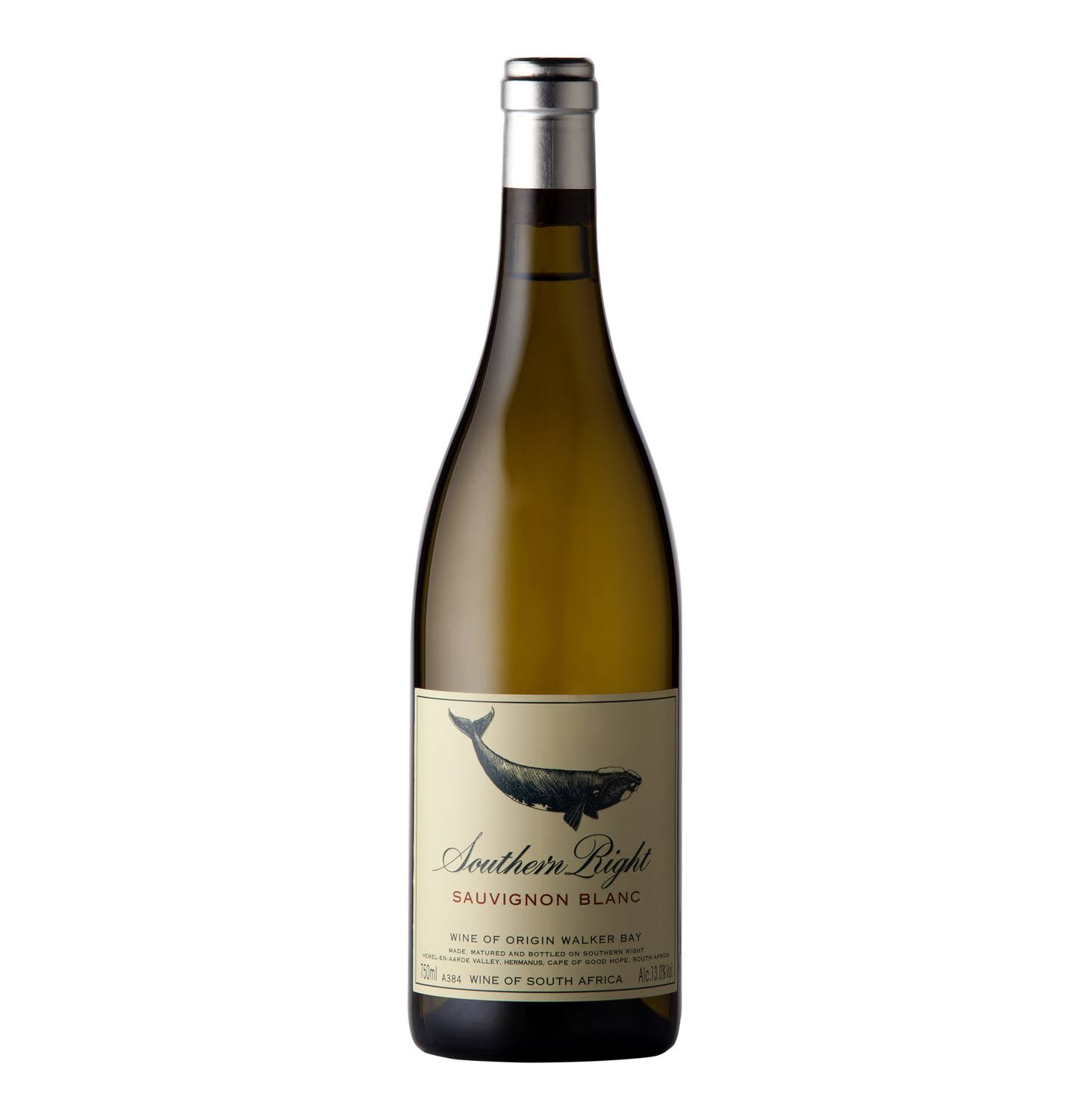 Southern Right Sauvignon Blanc, Walker Bay (Vintage Varies) - 750 ml bottle