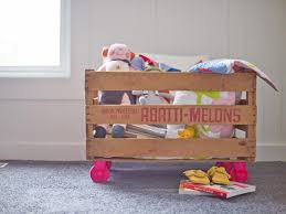 How To Make A Wooden Toy Chest by Toy Storage Ideas And Organizers Hgtv