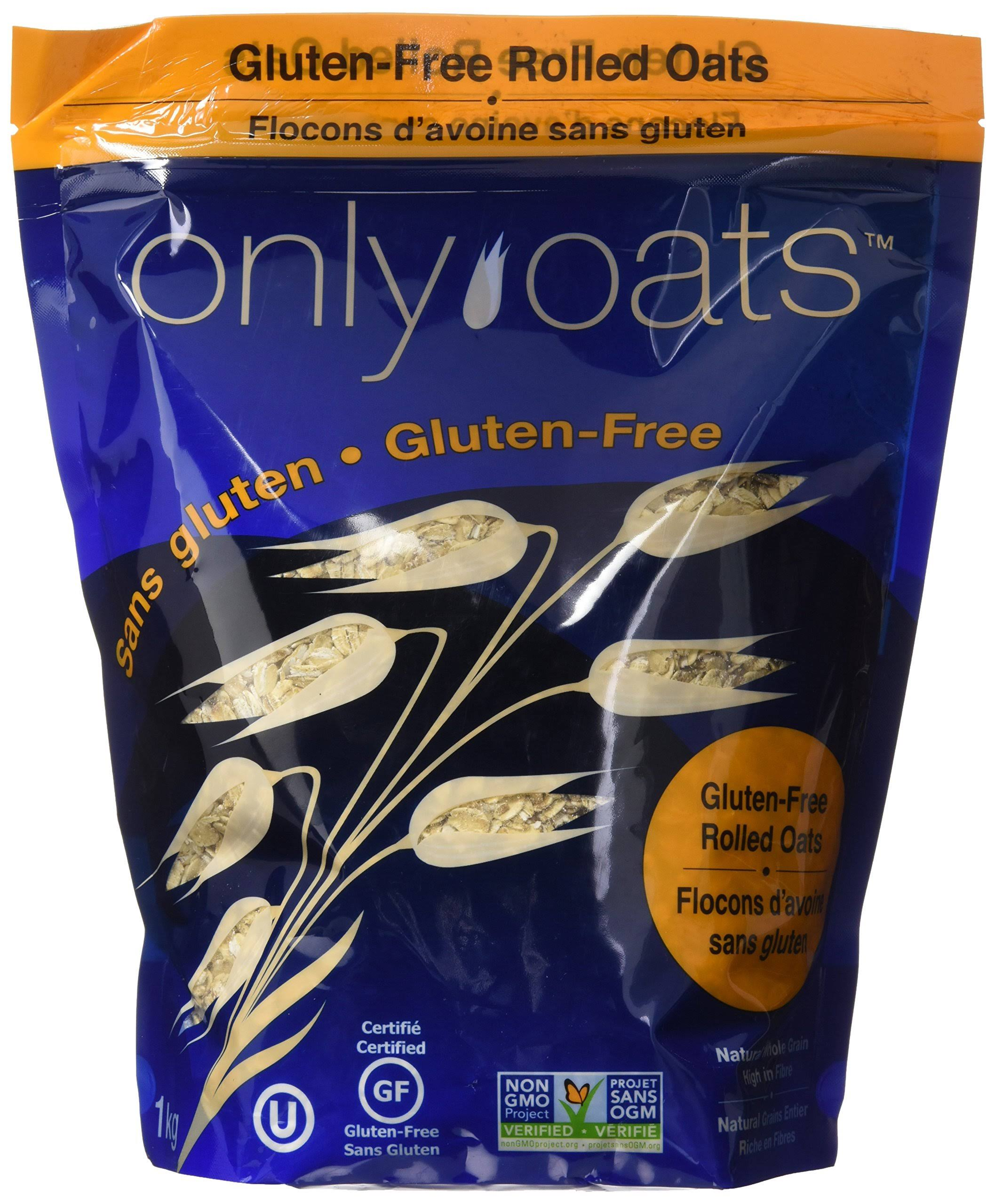 Only Oats Pure Whole Grain Rolled Oats - 1lg
