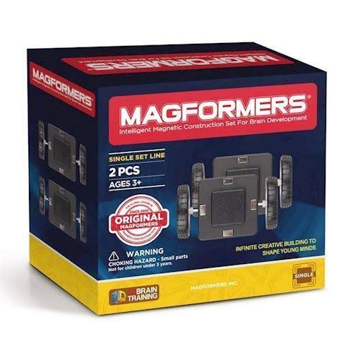 Magformers Wheels 2 Piece Set