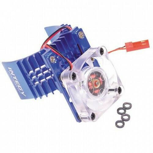 Integy Motor Heat Sink with Cooling Fan for Slash - Stampede 2wd, Rustler and Bandit
