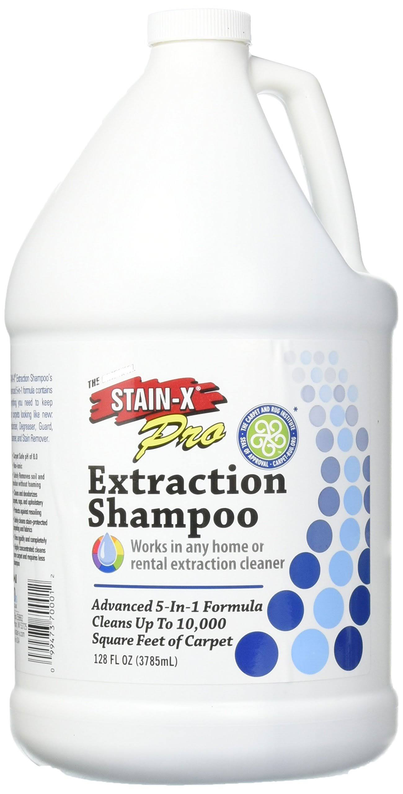 Stain-x Pro Carpet & Upholstery Shampoo - 128oz