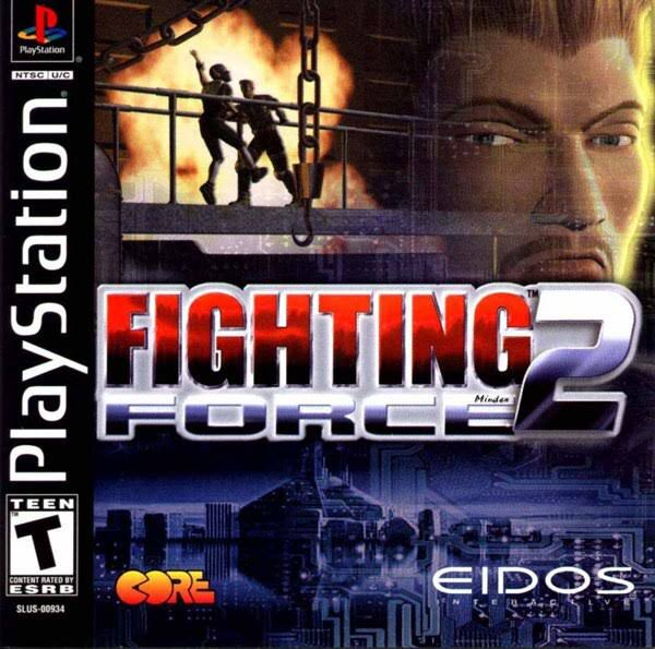 Fighting Force 2 - Playstation