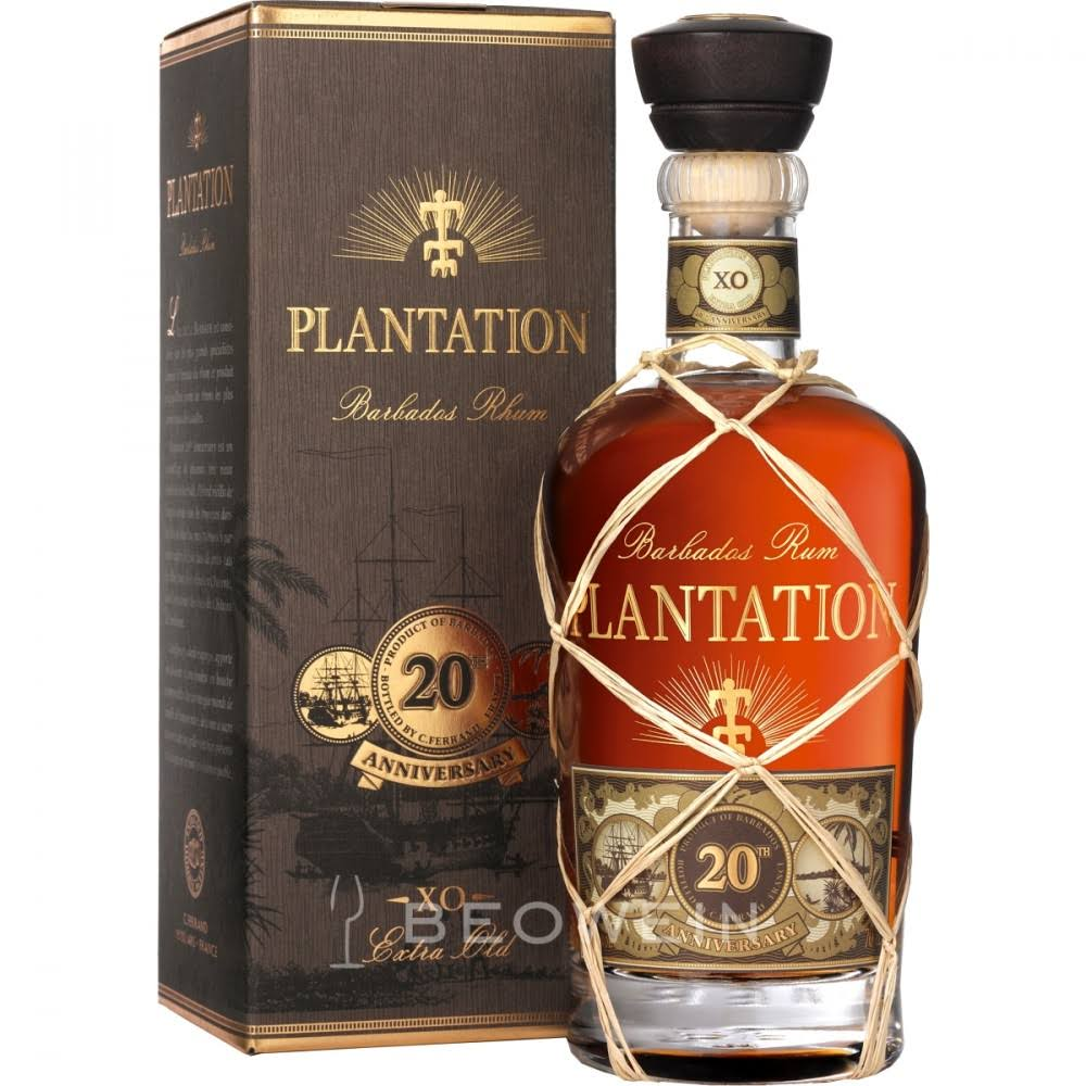 Barbados Plantation Extra Old Rum - 40%, 750ml