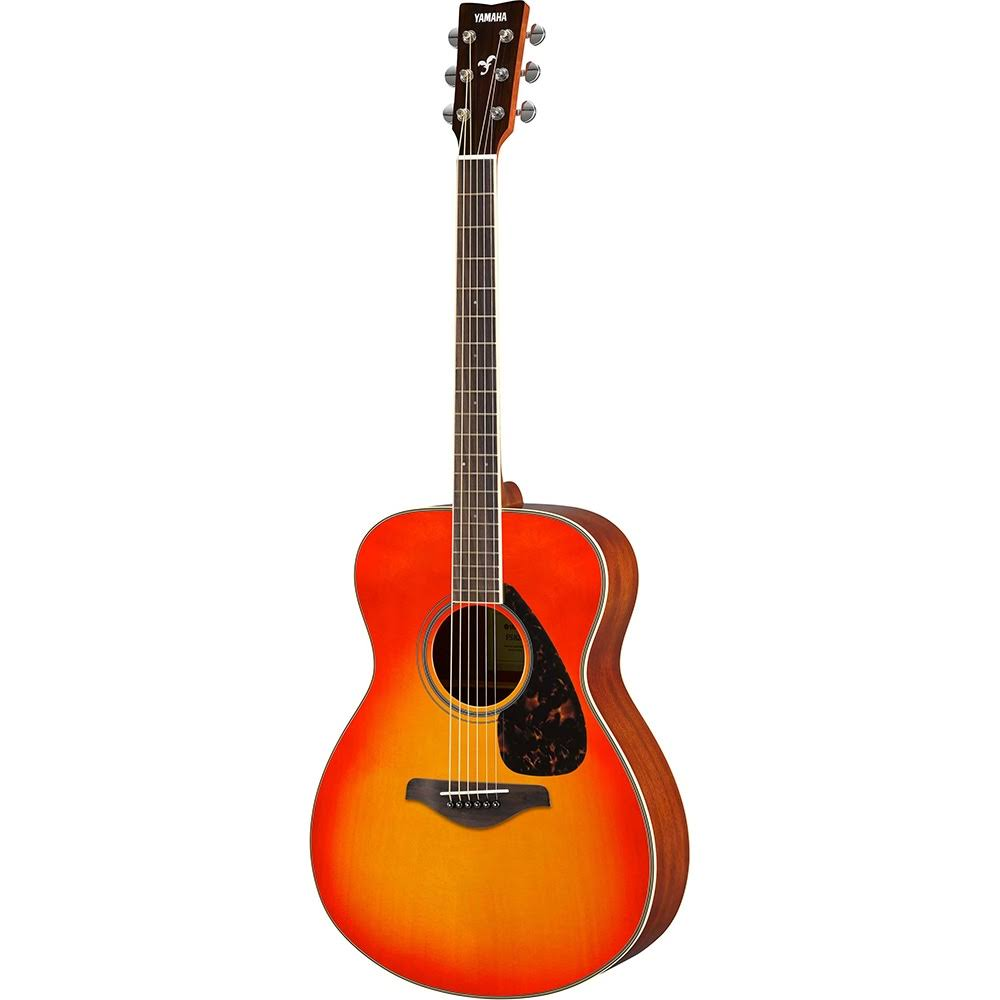 Yamaha FS820 Folk Acoustic Guitar - Autumn Burst, Small Body
