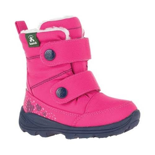 Kamik Kids' Pep Snow Boot, Bright Rose