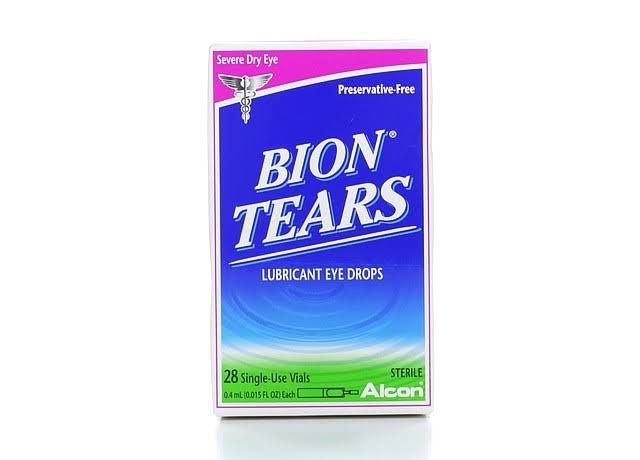 Alcon Bion Tears Lubricant Eye Drops - 28 vials