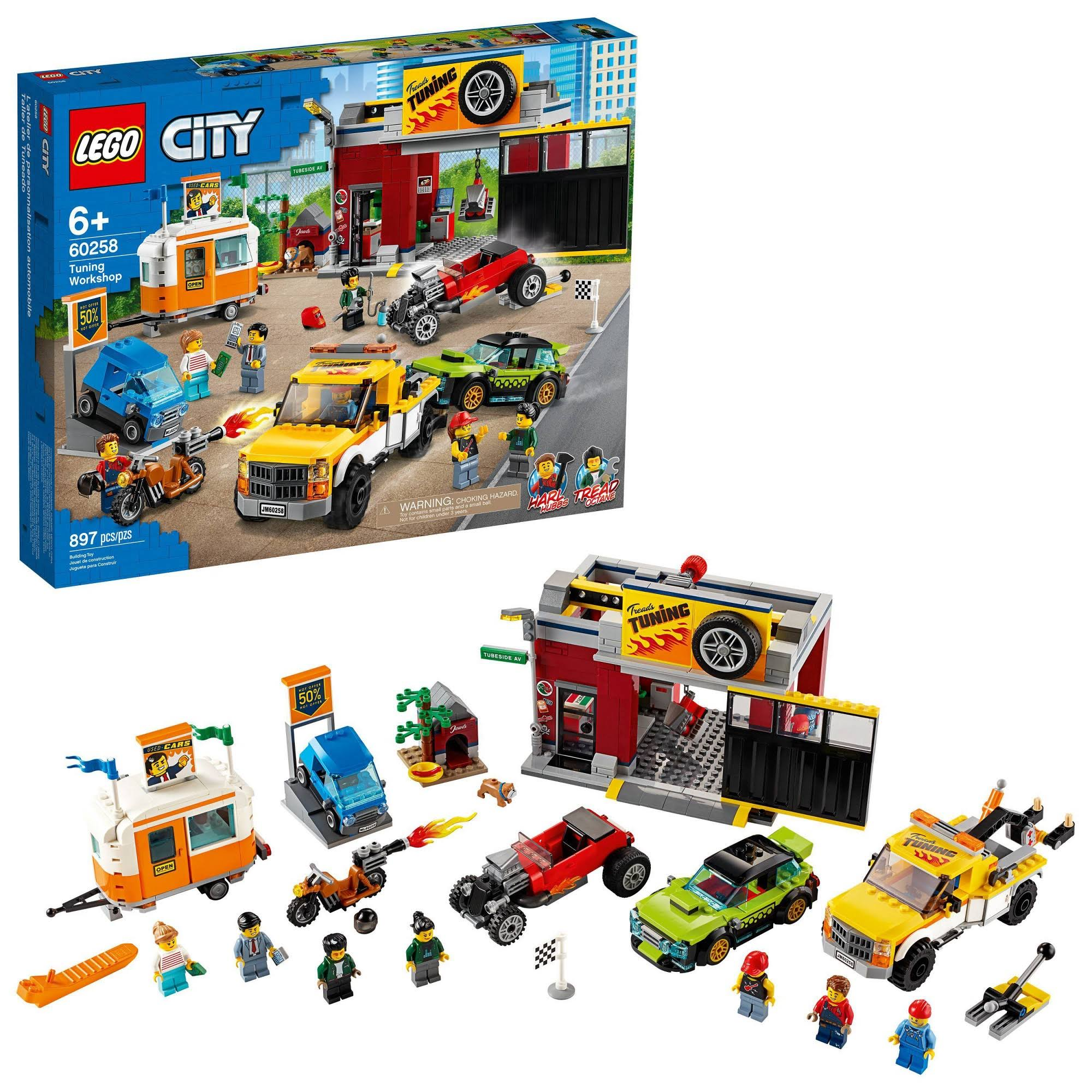 Lego City Tuning Workshop 60258 Building Kit