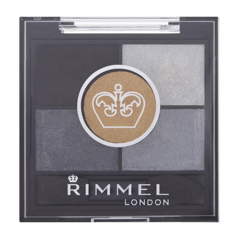 Rimmel London Glam' Eyes HD 5 Pan Eye Shadow - 021 Golden Eye, 3.8g