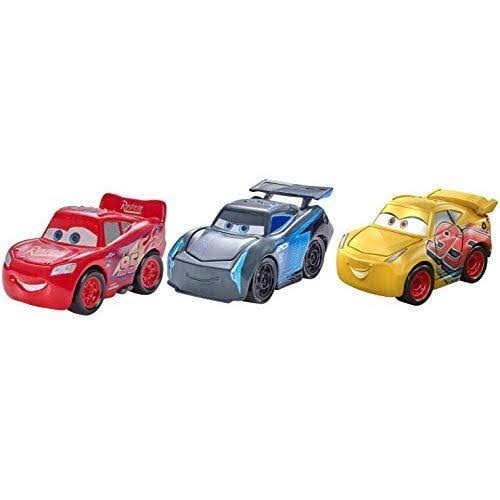 Disney Pixar Mini Racers Cars 3 Series Metal Vehicle Toy - Set of 3