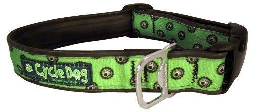 Cycle Dog Bottle Opener Recycled Dog Collar Green Icon Medium