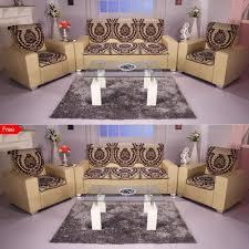 Black Sofa Covers India by Sofa Set Covers Online Latest Sofa Covers Designs Homeshop18 Com
