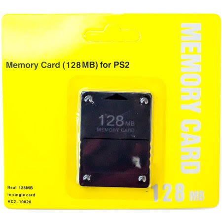 128MB Memory Card Game Memory Card for Sony PlayStation 2 PS2