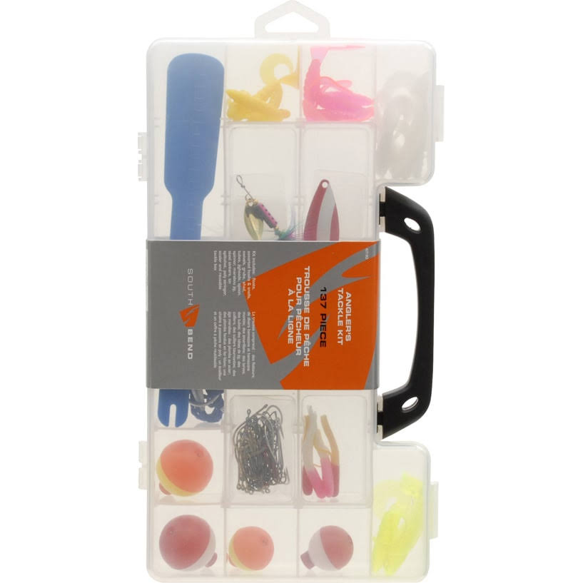 South Bend Deluxe Tackle Kit - 137-piece