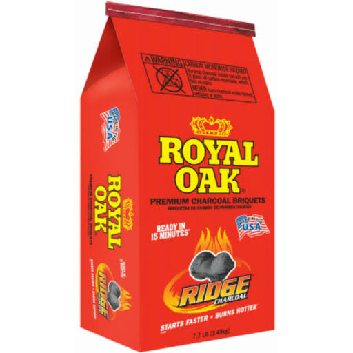 Royal Oak Premium Charcoal Briquettes - 7.7lb