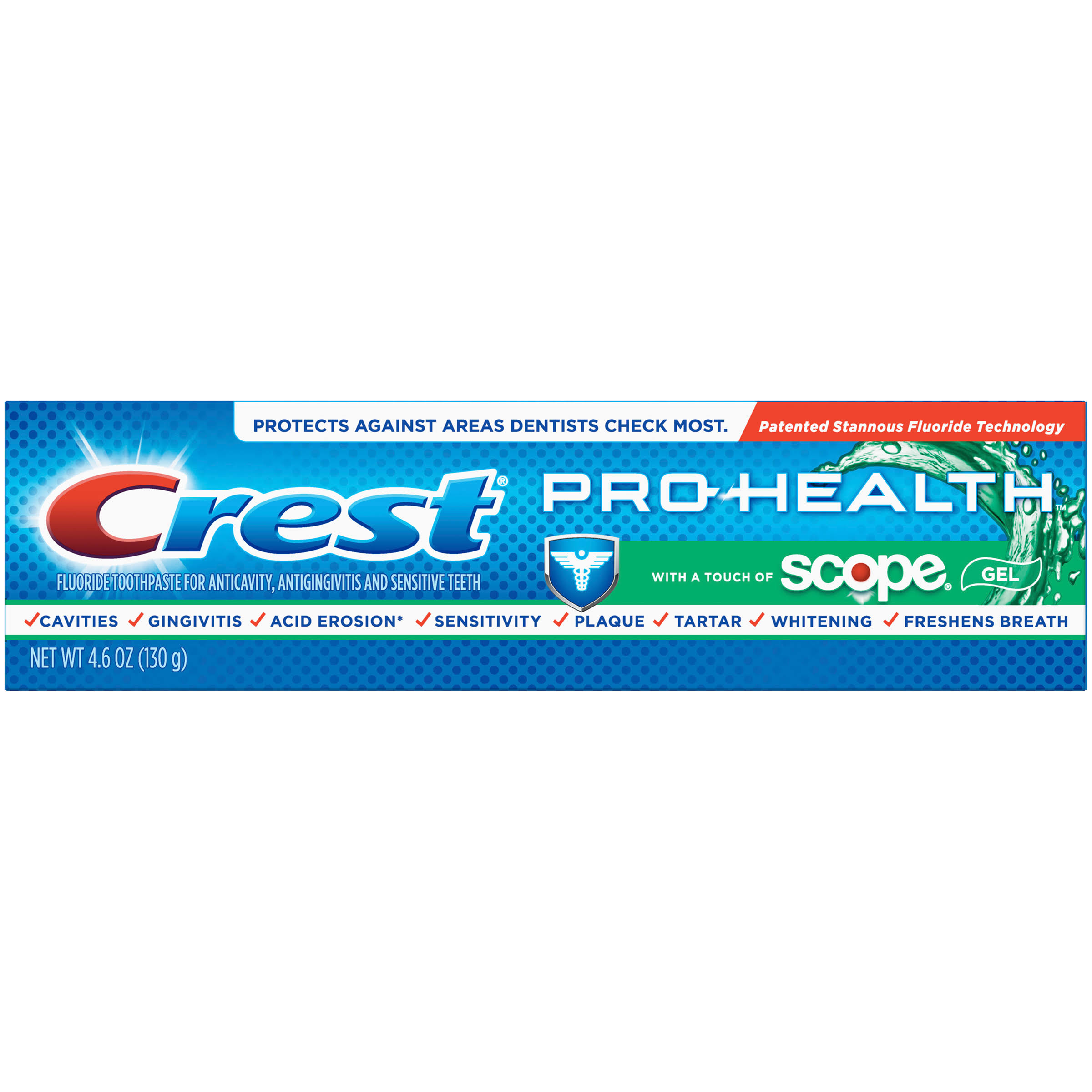 Crest Pro-Health with a Touch of Scope Whitening Toothpaste - 4.6oz