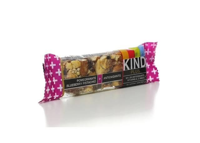 Kind Plus Nutrition Boost Bar - Pomegranate Blueberry Pistachio and Antioxidants, 1.4oz
