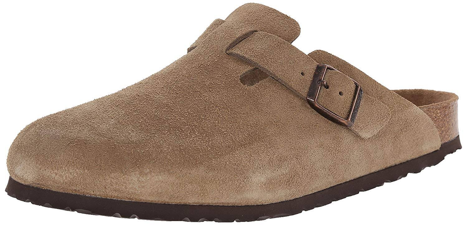 Birkenstock Women's Boston Soft Footbed Clogs - Taupe