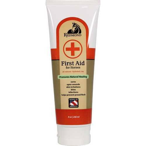 Redmond First Aid All Natural Hydrated Clay - For Horses, 8oz