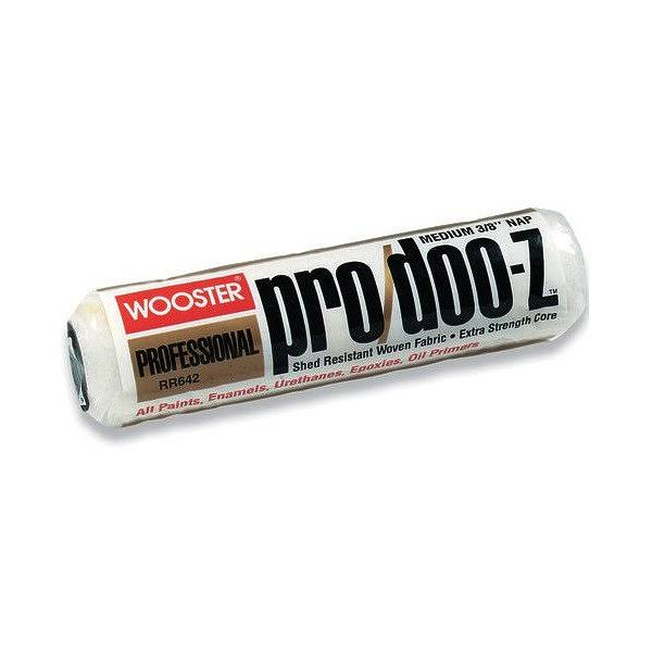 "Wooster RR642-12 Pro/Doo-z Roller Cover - Medium, 12""x3/8"""