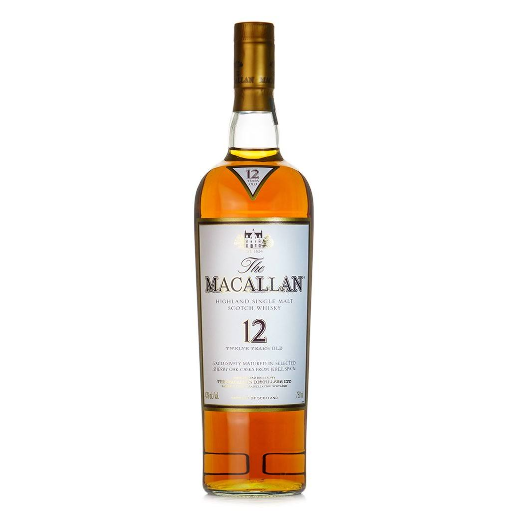 Macallan 12 Years Single Malt Scotch