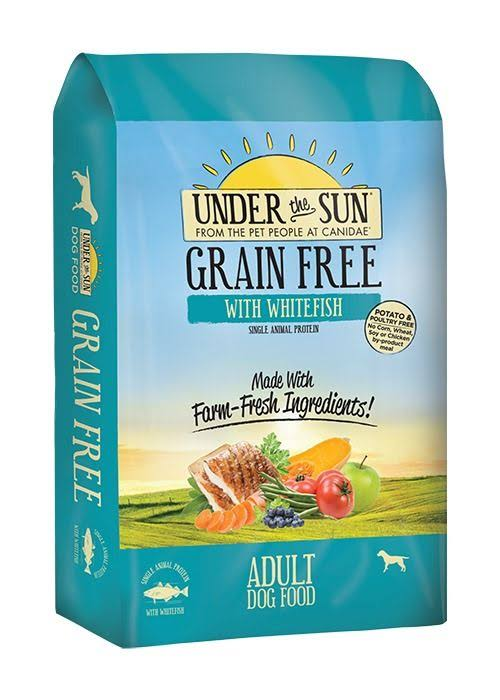 Canidae Grain Free Under The Sun Whitefish Dry Dog Food, 23.5 lb