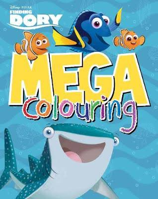 Disney Pixar Finding Dory Mega Colouring Book - Parragon