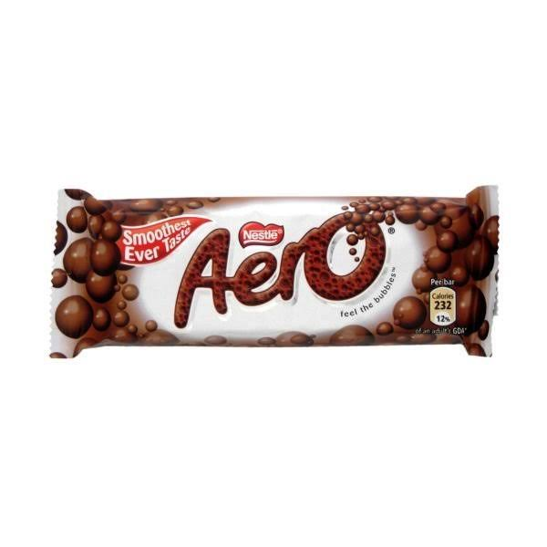 Nestle Aero Milk Chocolate Bar - 100g