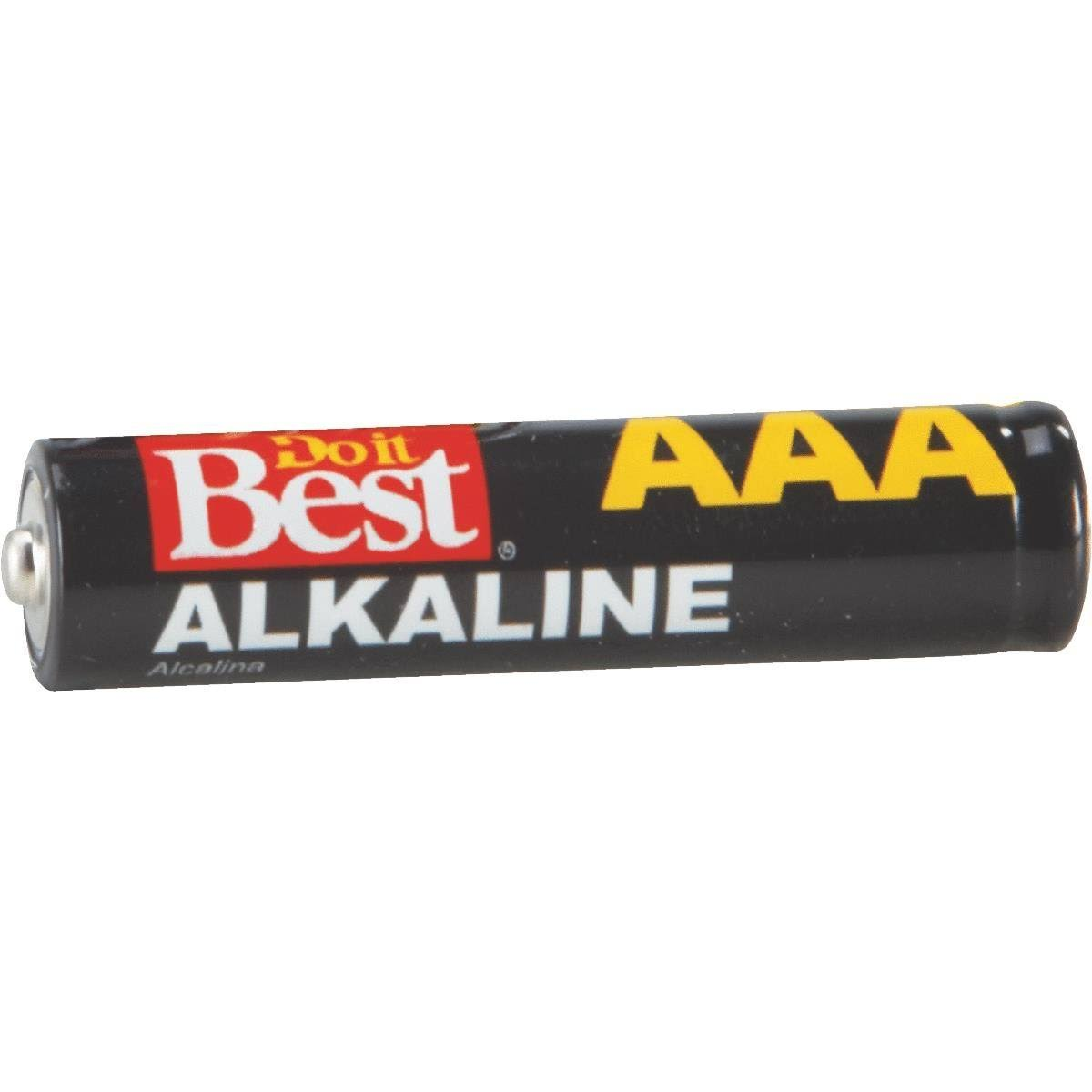 Do it Best Alkaline AAA Battery