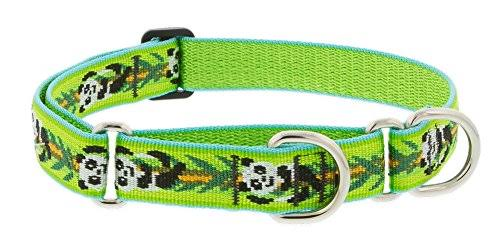 "LupinePet Originals 1"" Panda Land 15-22"" Martingale Collar for Medium and Larger Dogs"