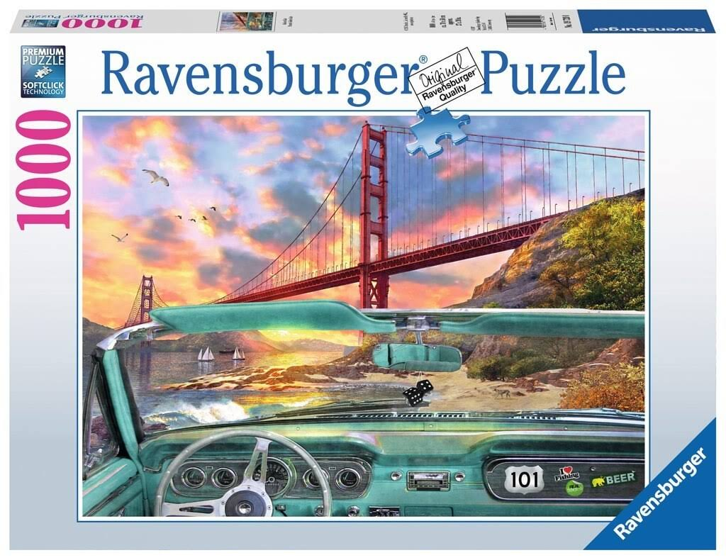 Ravensburger Golden Gate Jigsaw Puzzle